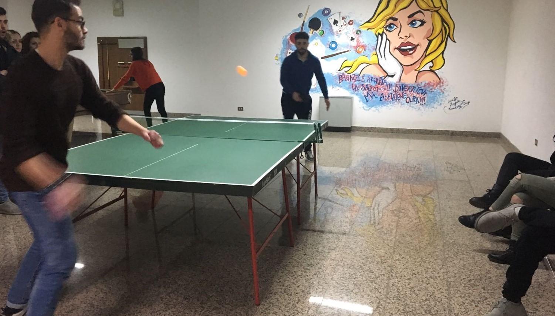 Sport e intrattenimento al collegio Dell'Andro di Bari