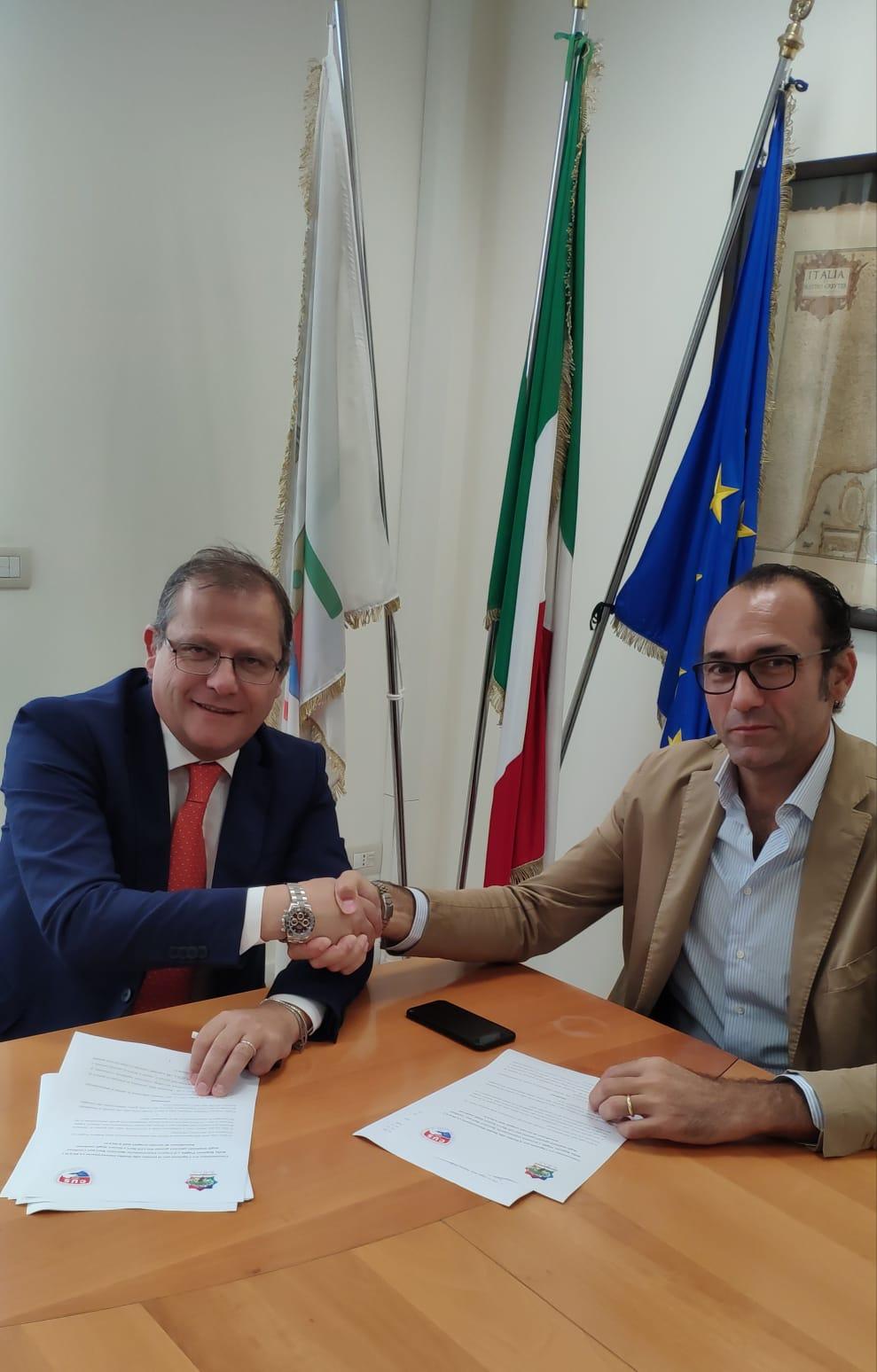 Firmata la convenzione tra l'ADISU Puglia e il CUS Bari