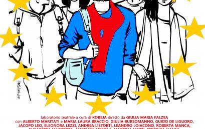 PROCESSO ALL'EUROPA:               un processo teatralizzato per diffondere fra i giovani i valori dell'Europa