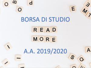 Approvazione graduatorie e assegnazione borse di studio A.A. 2019/2020