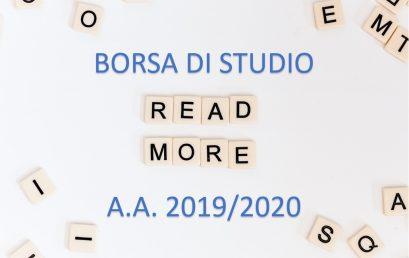 Comunicazione per la seconda rata della borsa di studio a.a. 2019/2020 (solo per gli studenti dell'Uniba e del Poliba)