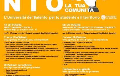 L'ADISU Puglia agli open days dell'Università del Salento