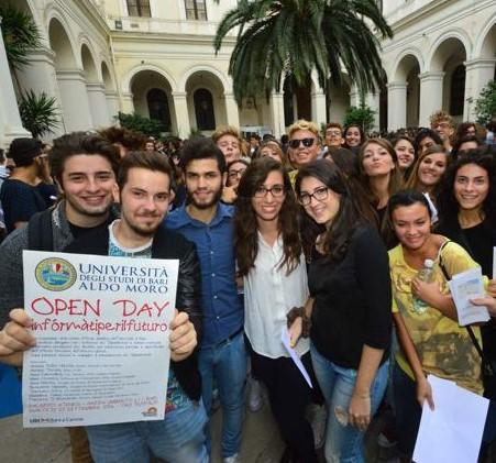 L'ADISU Puglia all'open day dell'UNIBA 2019