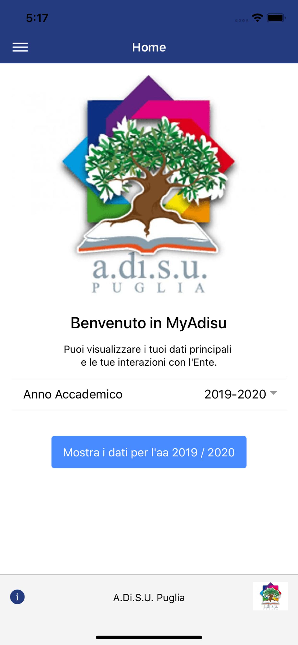 MyADISU: la nuova App Mobile dell'ADISU Puglia. Un nuovo canale di comunicazione con gli studenti delle Università pugliesi.