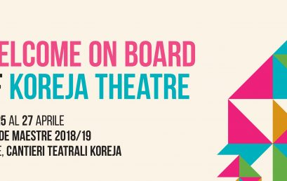 WELCOME ON BOARD OF KOREJA THEATRE