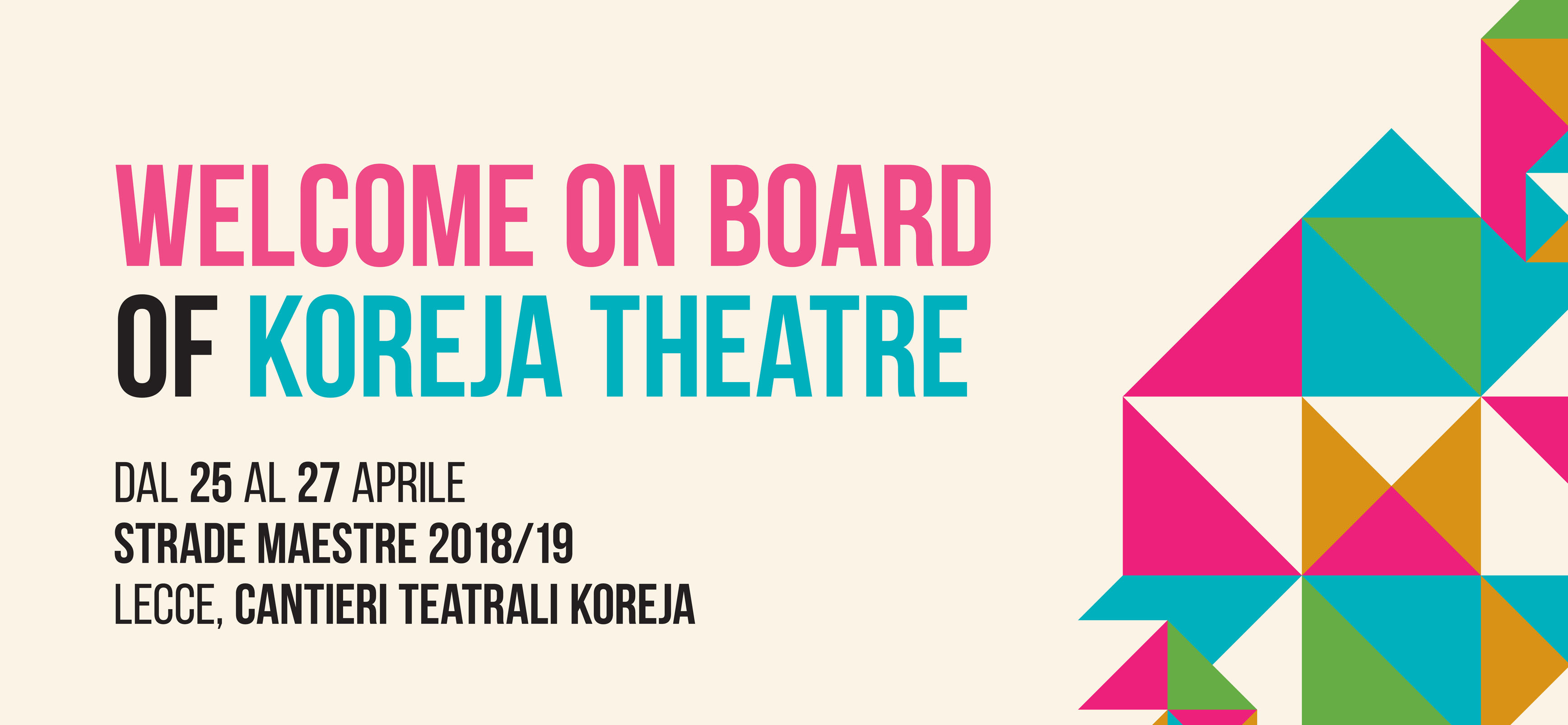 Giardini Di Plastica Koreja.Welcome On Board Of Koreja Theatre Adisu Puglia