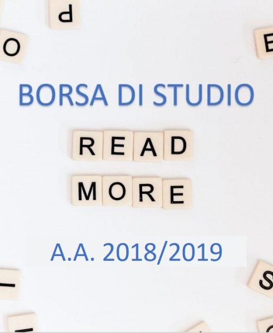Comunicazione requisito di merito primo anno – a.a. 2018/2019