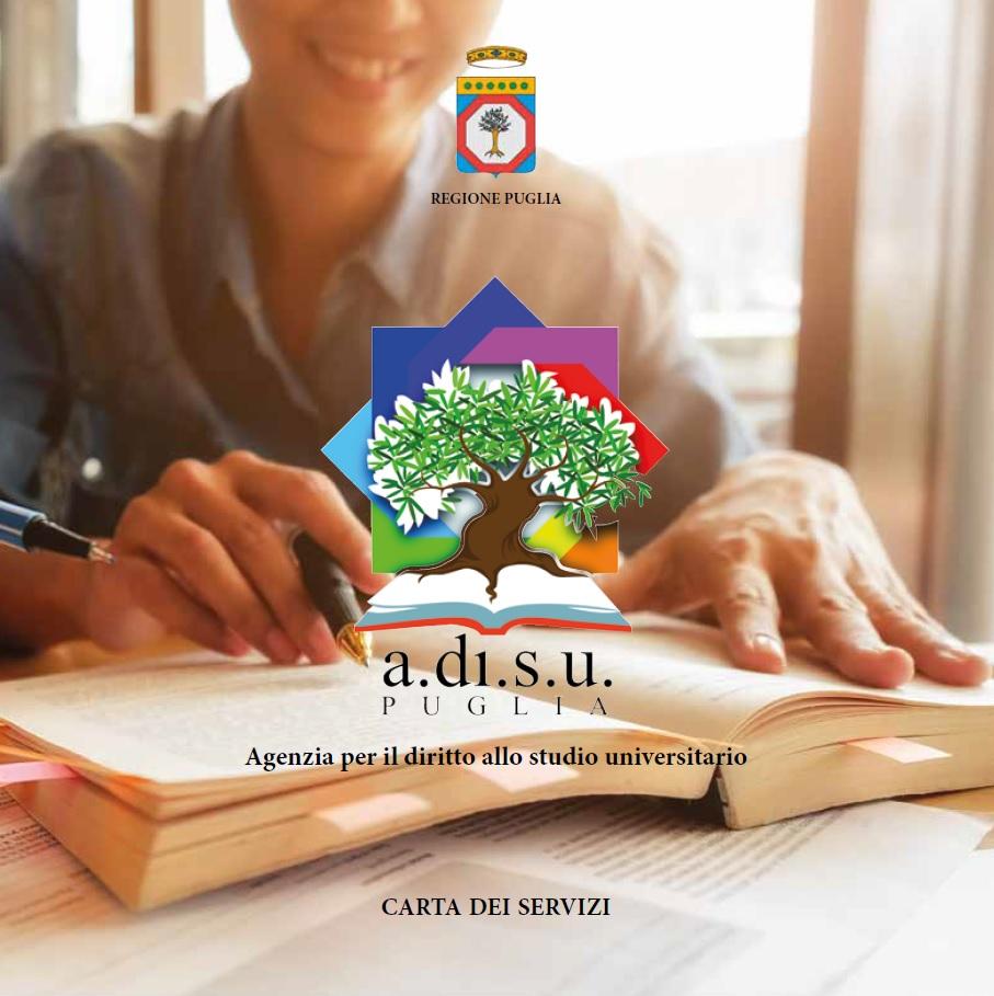La nuova Carta dei Servizi dell'ADISU Puglia
